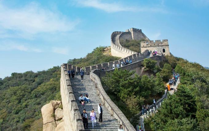 The Great Wall of China (China... unsurprisingly!)