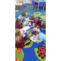 All so engaged during exploring time!