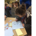 In maths we have been practicing writing numbers.