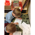 Writing words to match the picture.