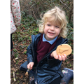 Look what we found in forest school today!