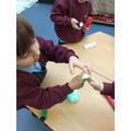 Exploring fibre optic lights.