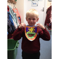 We designed our own shields