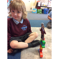 Mini mes are helping us learn the names of our new friends too,