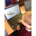 Creating pirate ships on 2paint