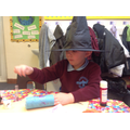 We made rockets to celebrate Bonfire night