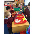 We sorted magnetic and non magnetic items