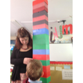 """It's taller than Miss Spencer"""