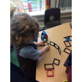 Creating 3d shapes!