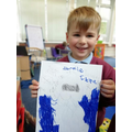 A poster to save the sea, brilliant, Frankie !