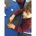 We found out about fireflies and created our own artwork combining different media.