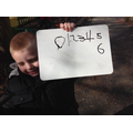 We copied the number we found.
