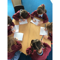 We love writing during our phonics lessons.
