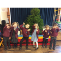We are very proud of our repeating colour pattern candy canes.