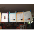 Rhyming words and treasure lists-Robins class