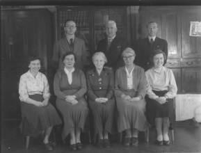 Teachers 1955 (see below for names)