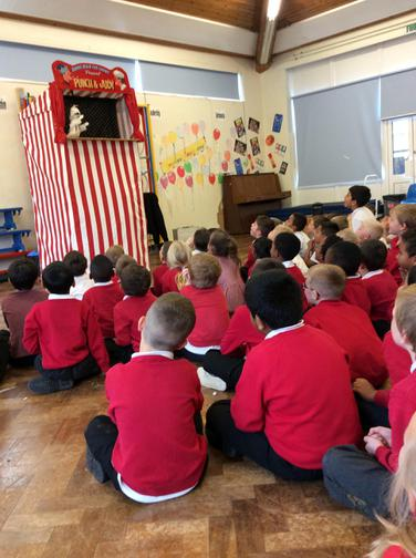 'Punch & Judy' come to visit