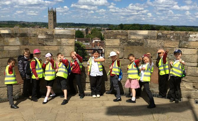 A visit to Warwick Castle