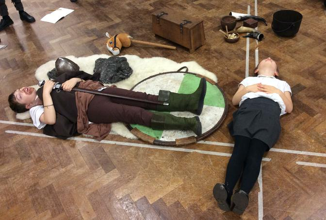An Anglo Saxon burial