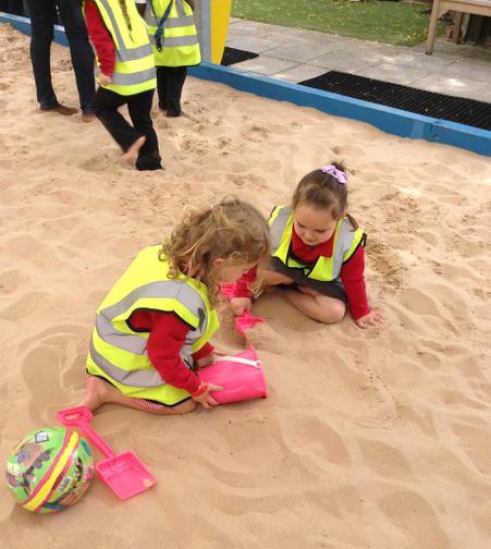 Making sandcastles