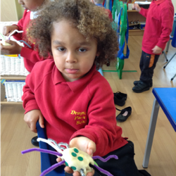 Creating 'Incy Wincy' spider