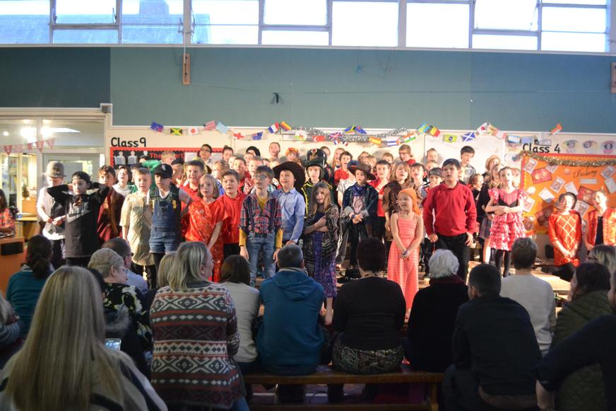 KS2 Around the World Christmas Celebration