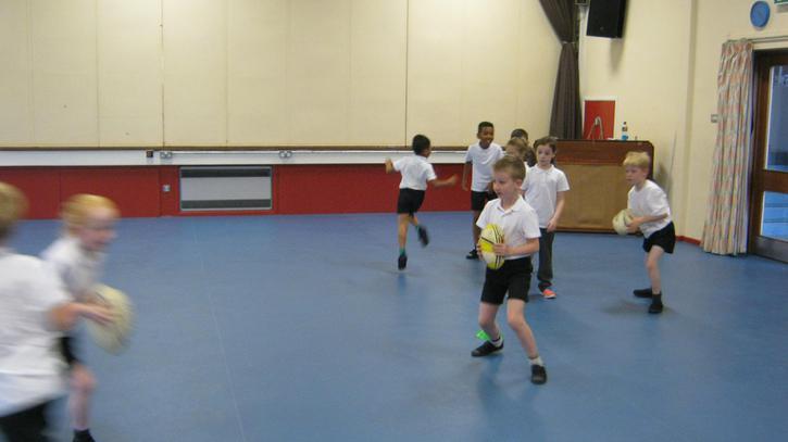 P.E.: rugby skills