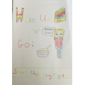 Lily's cereal box design