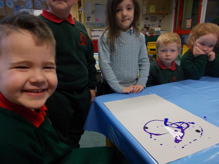 Making butterfly pictures
