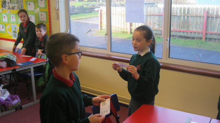 Loop cards. 'I have... Who has...?'