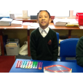 Exploring number bonds to 10 with Numicon