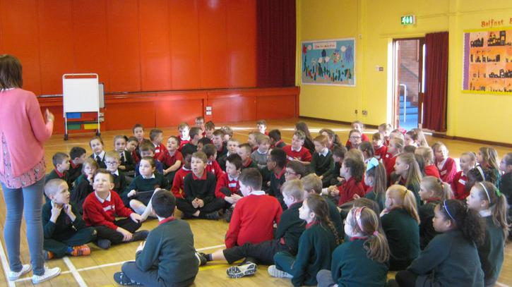 Shared education with Tullygally