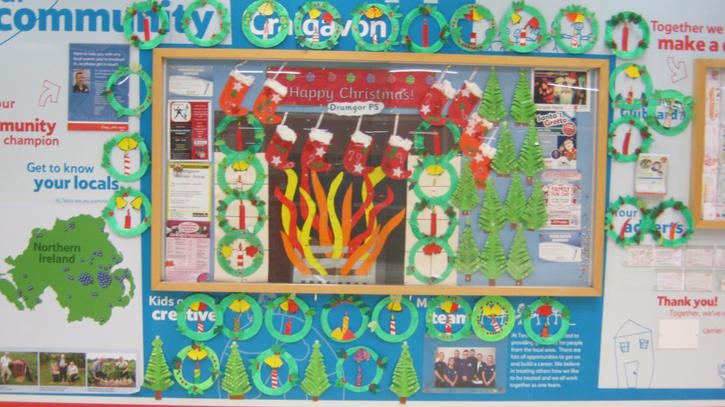Display in Tesco Extra