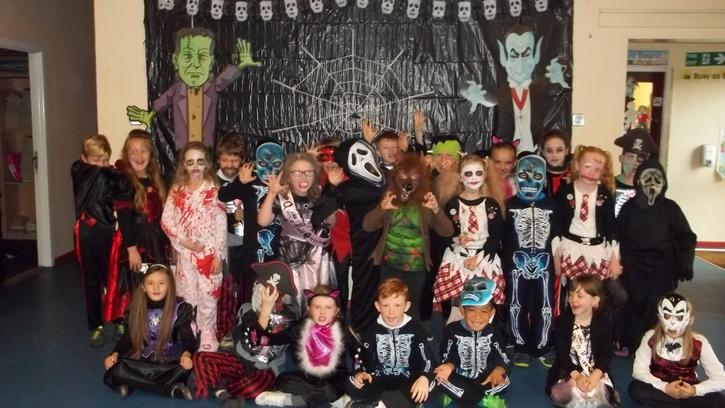 A scary bunch!