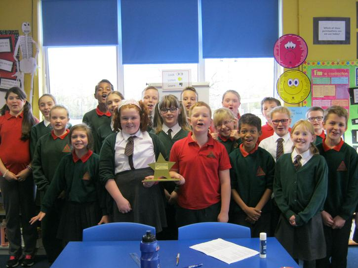 We won the Healthy Break Award for October