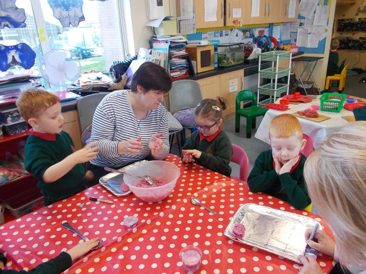 making raspberry ruffles