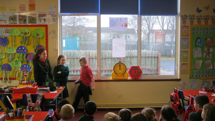 Acting out our favourite fairytale stories