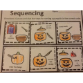 Sequencing the steps in the correct order.