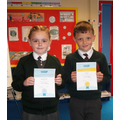 Well Done to our first gold and silver winners!