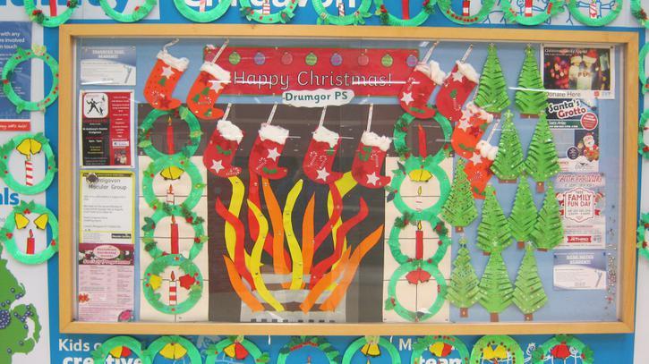 Tesco Extra Christmas display
