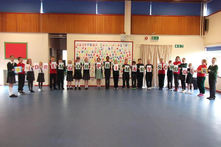 We did our Assembly on Friday 23rd September.