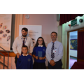 Mr Crompton, Josh, Rose and Mr Biltcliffe