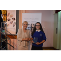 Rose with Kate Fox-Parry,Flintshire Sports Council