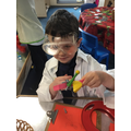 Exploring on science day.