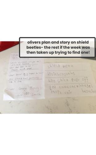 Oliver's super story