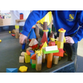 Using building blocks to make homes for minibeasts