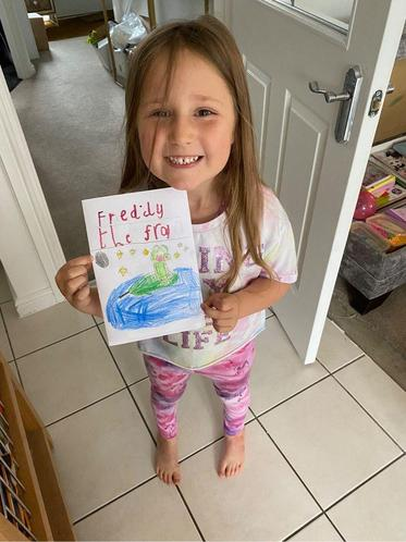 Belle's Freddy the Frog Story