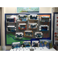 Water cycle diagrams by LKS2 made from reused boxes