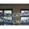 We made 'Nameosaurus' pictures.