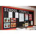 School Council display board